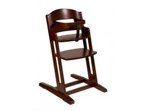 Baby Dan Dřevěná jídelní židlička BabyDan DanChair Walnut