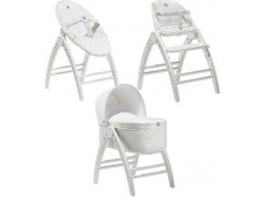 Baby Dan Angel 3v1 postýlka+lehátko+židlička, dřEvo
