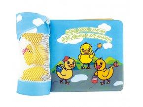dBb Remond dBb 3 ks vodních hraček z kaučuku a koupací kniha