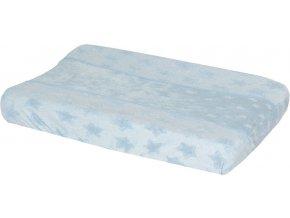 Bebe-Jou Froté návlek na malou podložku Bébé-Jou Fabulous Frosted Blue