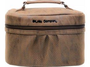 Little Company Beautycase kosmetická taška Emily cognac