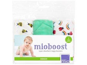 Bambino Mio absorbční vložky Mio Boost Honeybee Hive 3 ks 3 kusy v sadě