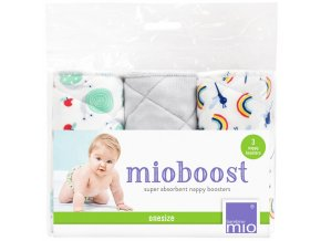 Bambino Mio absorbční vložky Mio Boost Snail Surprise 3 ks 3ks v sadě