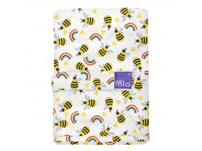 Bambino Mio přebalovací podložka 60x43 Honeybee Hive