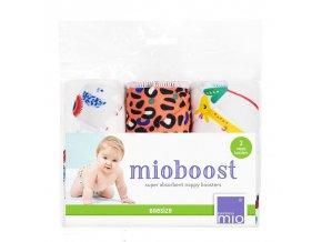 Bambino Mio absorbční vložky Mio Boost Safari Spots 3 ks