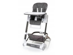 Jídelní židlička ICON barva GREY