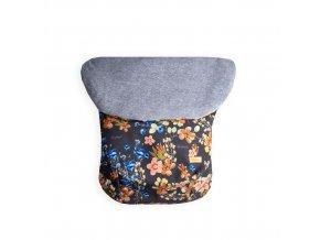 Beztroska polofusak softshell, field flowers