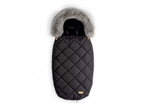 Beztroska fusak-kožešina 100 cm, black (5-24m)/M