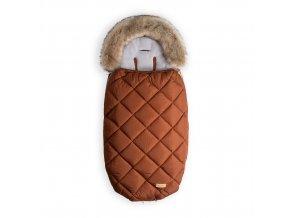 Beztroska fusak-kožešina 100 cm, cinnamon (5-24m)/M