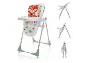 Dětská židlička Monti, Forest Fox