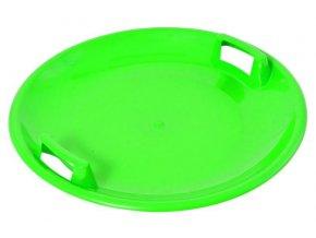 Talíř sněžný  UFO - zelený