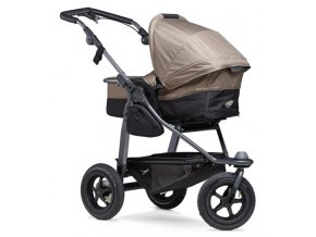 Mono combi pushchair - air wheel brown