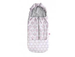 MOTHERHOOD Fusak do kočárku Softshell Classics Pink Motherhood