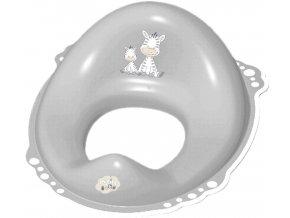 MALTEX Redukce na WC Zebra protiskluzová - šedá