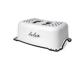 MALTEX Stupínek protiskluzový Lulu bílý