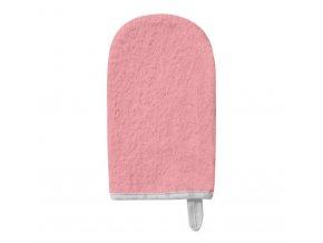 BABYONO Žínka na mytí froté pink