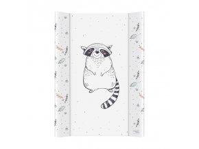 CEBA Podložka přebalovací 2-hranná měkká 50 x 70 cm Raccoon
