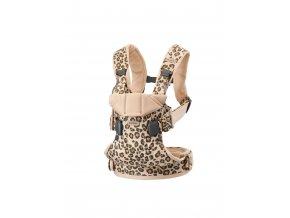 Ergonomické nosítko Babybjorn ONE Beige/Leopard Cotton