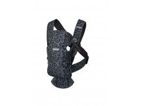 Babybjorn nosítko MINI Anthracite/Leopard 3D Mesh