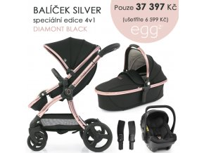 BabyStyle Egg2 set 4 v 1 - Diamond Black 2021