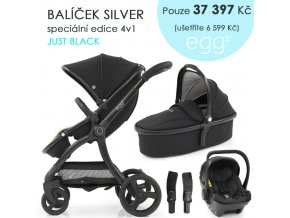 BabyStyle Egg2 set 4 v 1 - Just Black 2021