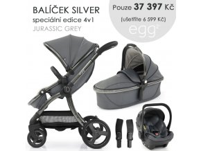 BabyStyle Egg2 set 4 v 1 - Jurassic Grey 2021