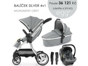 BabyStyle Egg2 set 4 v 1 - Monument Grey 2021