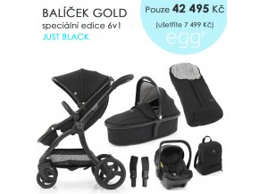 BabyStyle Egg2 set 6 v 1 - Just Black 2021