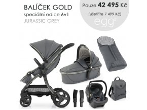 BabyStyle Egg2 set 6 v 1 - Jurassic Grey 2021