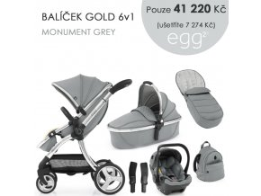 BabyStyle Egg2 set 6 v 1 - Monument Grey 2021