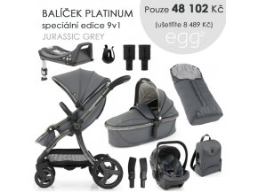 BabyStyle Egg2 set 9 v 1 - Jurassic Grey 2021