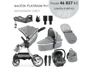 BabyStyle Egg2 set 9 v 1 - Monument Grey 2021