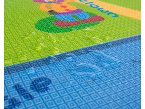 Pěnová podložka Play Maxi 200*180 cm, Traveling/Animals