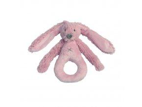 Happy Horse Chrastítko králíček Richie Old pink  Velikost: 18 cm