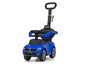 Odrážedlo s vodící tyčí VOLKSWAGEN T-ROC Blue Milly Mally modré