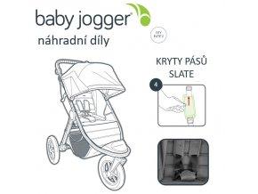 BabyJogger KRYTY pásů CITY ELITE 2 slate