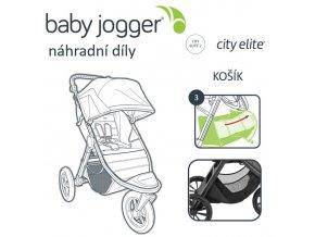 BabyJogger KOŠÍK CITY ELITE