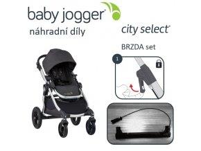 BabyJogger BRZDA set CITY SELECT
