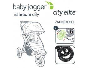 BabyJogger KOLO zadní CITY ELITE