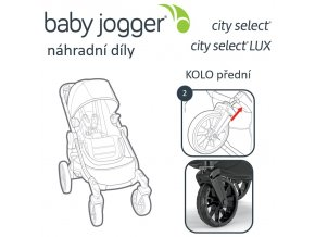BabyJogger KOLO přední CITY SELECT LUX (i SELECT)