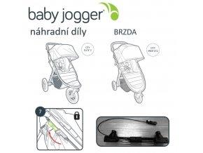 BabyJogger BRZDA set CITY MINI GT/ELITE