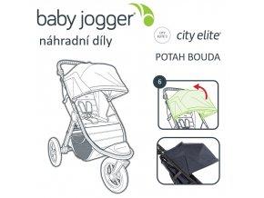 BabyJogger POTAH boudy CITY ELITE, černá