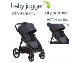 BabyJogger POTAH sedátka City Premier granite