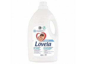 LOVELA Baby tekutý prací přípravek na bílé prádlo 4,5 l / 50 pracích dávek