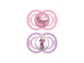 MAM Dudlík Perfect Fairy Tale 6+ m, silikon růžový
