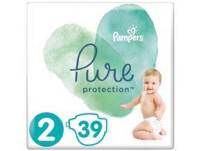 PAMPERS Pure Protection S2, 39 ks (4-8 kg) – jednorázové pleny