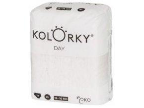 KOLORKY DAY NATURE - XL (12-16 kg) - 17 ks - jednorázové eko plenky