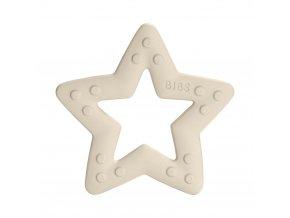 BIBS Baby Bitie hryzátko Star Ivory