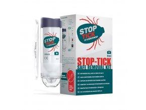 CEUMED Sada Stop Tick na odstranění klíštat 9 ml