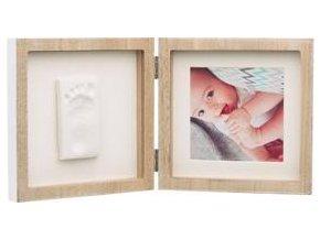 BABY ART Rámeček na otisky a fotografii Square Frame Wooden
